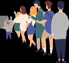 イベント会場内の混雑状況の可視化