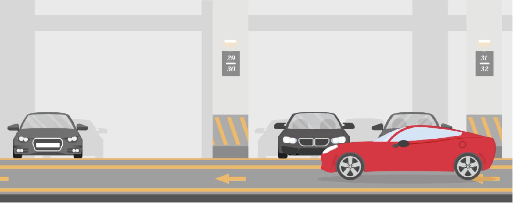 リアルタイムで駐車場の空室情報を見える化 駐車場searching